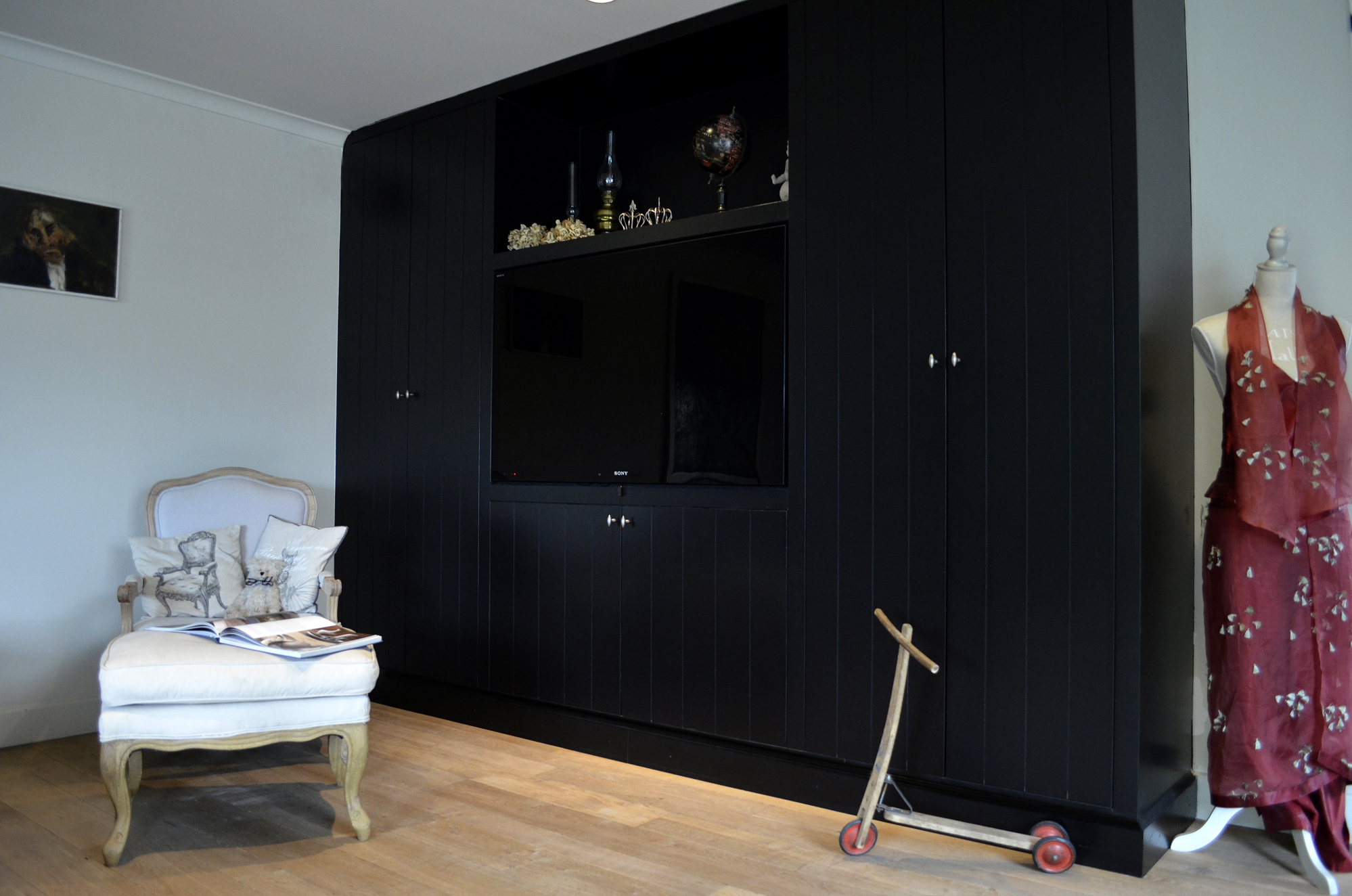 Woonkamer Wandkast : Wandkast woonkamer - Maatwerk - Realisaties