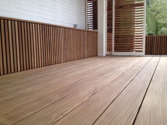 Outdoor living buitenschrijnwerk realisaties - Bank terras hout ...